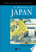 A History of Japan Book