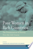 The Feminization Of Poverty In Rich Nations Book