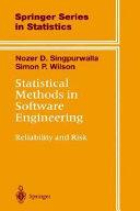 Pdf Statistical Methods in Software Engineering