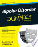 """Bipolar Disorder For Dummies"" by Candida Fink, Joe Kraynak"