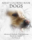 Adult Coloring Book Dogs