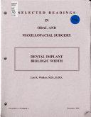 Dental Implant Biologic Width Book PDF