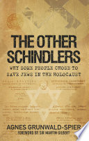 The Other Schindlers Book