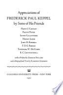 Appreciations of Frederick Paul Keppel.epub