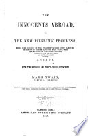 The Innocents Abroad Book PDF