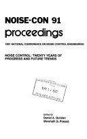 NOISE-CON ... Proceedings
