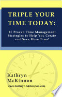 Triple Your Time Today Book