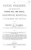 Pdf The Naval Gallery, with a Description of the Painted Hall and Chapel, Greenwich Hospital; a Guide-book for Visiters. [A Catalogue of the Paintings.] By Henry G. Clarke
