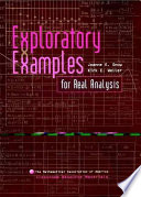 Exploratory Examples for Real Analysis Book