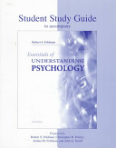Student Study Guide for Use with Essentials of Understanding Psychology
