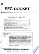 SEC Docket Book