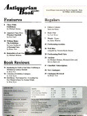 Pdf Antiquarian Book Monthly