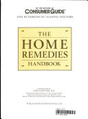 Pdf The Home Remedies Handbook