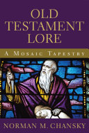 Old Testament Lore Pdf/ePub eBook