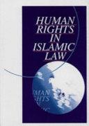 Human Rights in Islamic Law