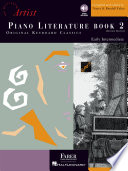 Piano Literature   Book 2  Developing Artist Original Keyboard Classics