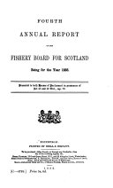 Annual Report of the Fishery Board for Scotland