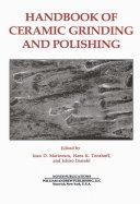 Handbook of Ceramics Grinding   Polishing Book