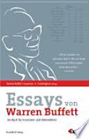 Die Essays von Warren Buffett  : das Buch für Investoren