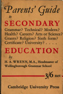 The Parents  Guide to Secondary Education