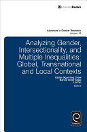 Analyzing Gender, Intersectionality, and Multiple Inequalities