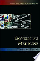 Ebook Governing Medicine Theory And Practice