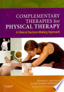 Complementary Therapies For Physical Therapy Book PDF