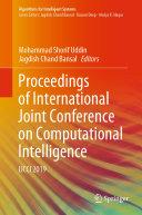 Proceedings of International Joint Conference on Computational Intelligence [Pdf/ePub] eBook