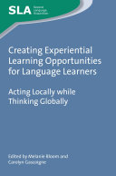 Pdf Creating Experiential Learning Opportunities for Language Learners Telecharger