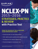 NCLEX PN 2015 2016 Strategies  Practice  and Review with Practice Test Book