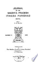 Journal of the Madhya Pradesh Itihasa Parishad