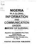 Nigeria in a Global Information and Communication Order