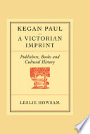 Kegan Paul A Victorian Imprint