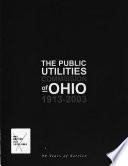 The Public Utilities Commission of Ohio, 1913-2003