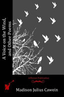 A Voice on the Wind  and Other Poems Book