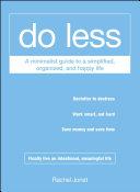 Do Less Book
