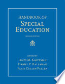 """Handbook of Special Education"" by James M. Kauffman, Daniel P. Hallahan, Paige Cullen Pullen"