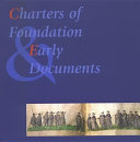 Charters of Foundation and Early Documents of the Universities of the Coimbra Group