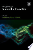 Handbook of Sustainable Innovation Book