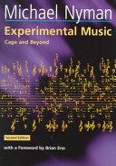 Pdf Experimental Music