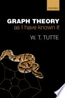 Graph Theory As I Have Known It