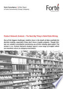 Product Network Analysis     The Next Big Thing in Retail Data Mining