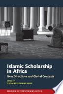 Islamic Scholarship In Africa