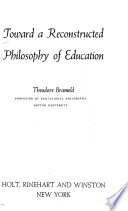 Toward a Reconstructed Philosophy of Education