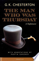 Free The Man Who Was Thursday Book