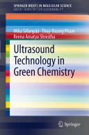 Ultrasound Technology in Green Chemistry Book