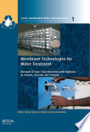 Membrane Technologies for Water Treatment