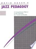 Jazz Pedagogy Book PDF