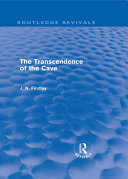 The Transcendence of the Cave (Routledge Revivals) Pdf/ePub eBook