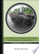 An Analysis of the Role of Cycling in Sustainable Urban Mobility